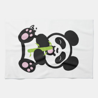 Happy Panda Tea Towel