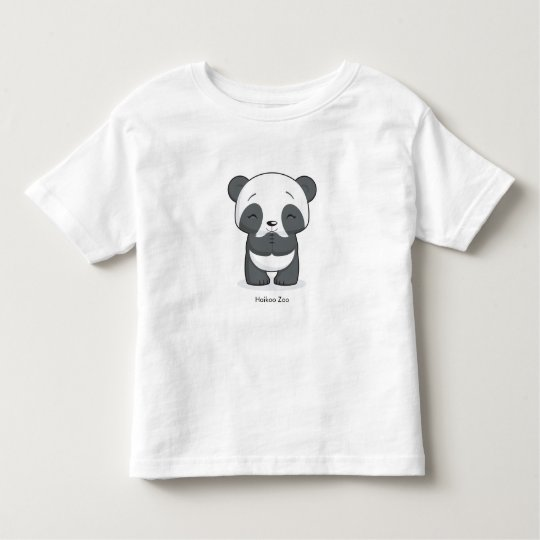 Happy Panda Toddler's Shirt