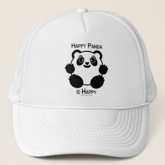 Happy Panda Trucker Hat