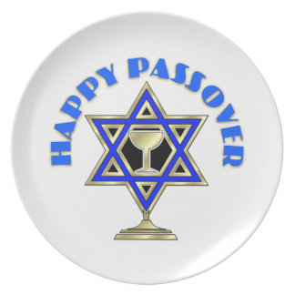 Happy Passover Dinner Plates