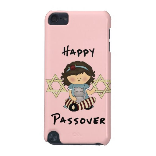 Happy Passover Girl iPod Touch 5G Covers