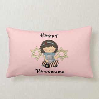 Happy Passover Girl Pillows