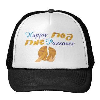 Happy Passover Mesh Hat