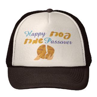 Happy Passover Mesh Hats