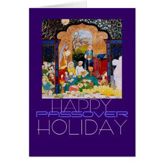 HAPPY PASSOVER HOLIDAY CARD