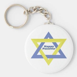 Happy passover key ring