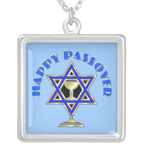 Happy Passover Necklaces