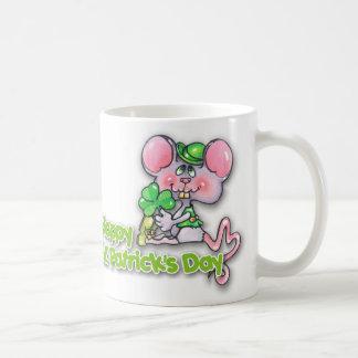 Happy Patty's Mouse Basic White Mug