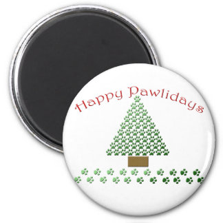 happy pawlidays copy1 refrigerator magnets