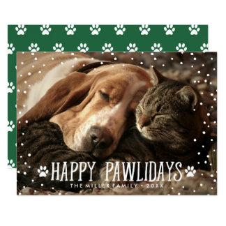 Happy Pawlidays | Holiday Photo Card