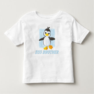 Happy Penguin Big Brother Toddler T-Shirt
