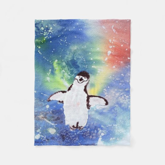 Happy Penguin Blanket