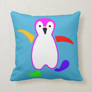 Happy Penguin Cushion