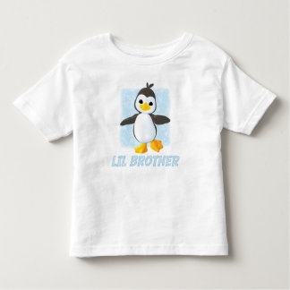 Happy Penguin Little Brother Toddler T-Shirt