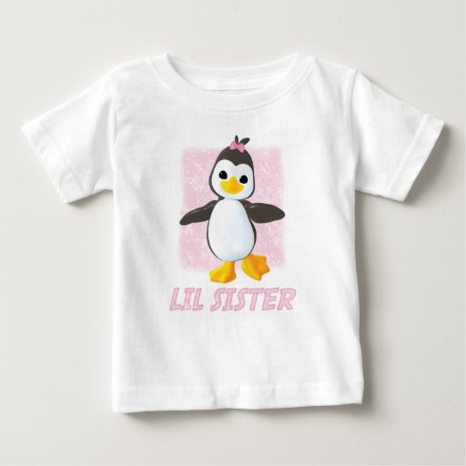Happy Penguin Little Sister Tees