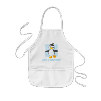 Happy Penguin Middle Brother Kids' Apron