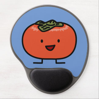 Happy Persimmon Pair Persimmons Sweet Fruit Gel Mouse Pad