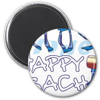 Happy Pesach 6 Cm Round Magnet