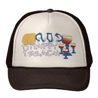 Happy Pesach Mesh Hat