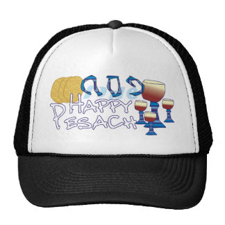 Happy Pesach Mesh Hats