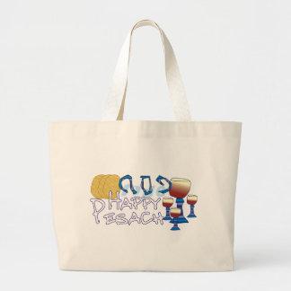 Happy Pesach Jumbo Tote Bag