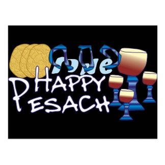 Happy Pesach Postcard