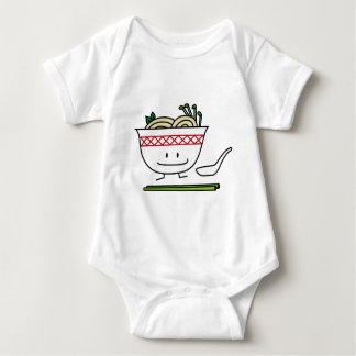 Happy Pho Noodle Bowl Baby Bodysuit