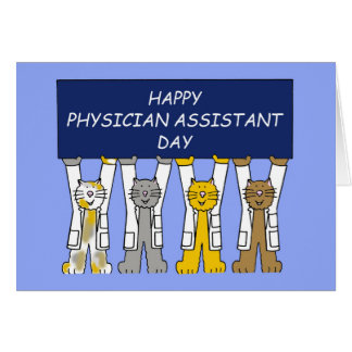 Happy Physician Assistant Day October 6th Card