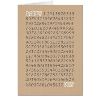 Happy Pi Day 3 14 March 14th Cards
