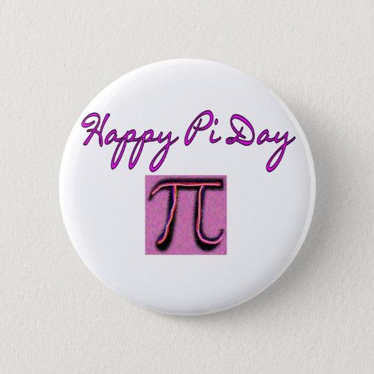 Happy Pi Day--Artsy 6 Cm Round Badge