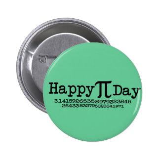 Happy Pi Day 6 Cm Round Badge