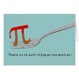 Happy Pi Day Card