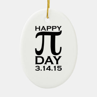 Happy Pi Day Christmas Ornament