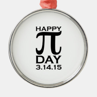 Happy Pi Day Christmas Ornament