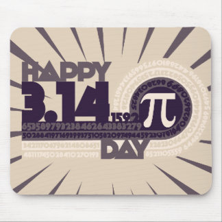 Happy Pi Day Mouse Pad