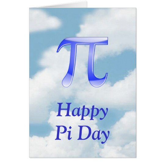 Happy Pi Day Pi in the sky with