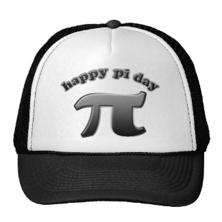 Happy Pi Day Pi Symbol for Math Nerds on March 14 Cap