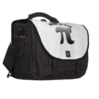 Happy Pi Day Pi Symbol for Math Nerds on March 14 Computer Bag