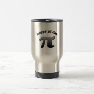Happy Pi Day Pi Symbol for Math Nerds on March 14 Travel Mug