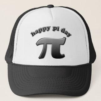Happy Pi Day Pi Symbol for Math Nerds on March 14 Trucker Hat