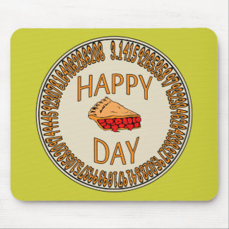 Happy PI Day with Slice of Pi Mouse Pad