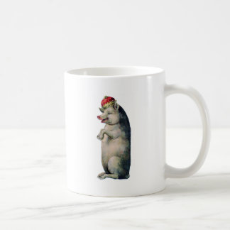 Happy pig king coffee mug