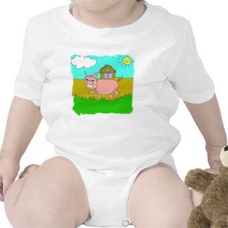 happy pig tee shirt