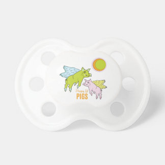Happy Pigs BooginHead Pacifier
