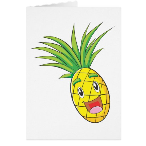 Happy Pineapple Card