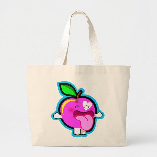 Happy pink apple bag