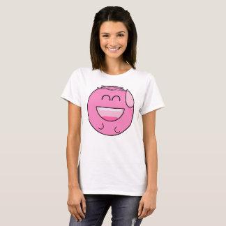 Happy Pink Emoji T-Shirt