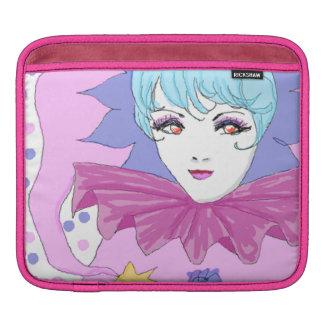 Happy Pink Joker Sleeve For iPads