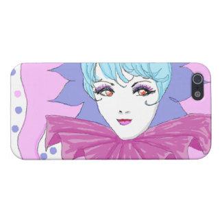 Happy Pink Joker iPhone 5 Case