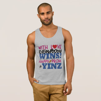 Happy Pink Prom Yinz Tank Top